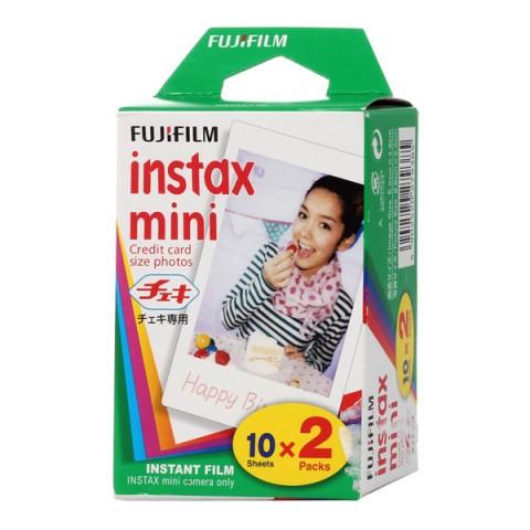 Купить картридж для фотоаппарата Fujifilm Colorfilm Instax Mini Glossy 10/2PK (10002992) в Москве, в Спб и в России