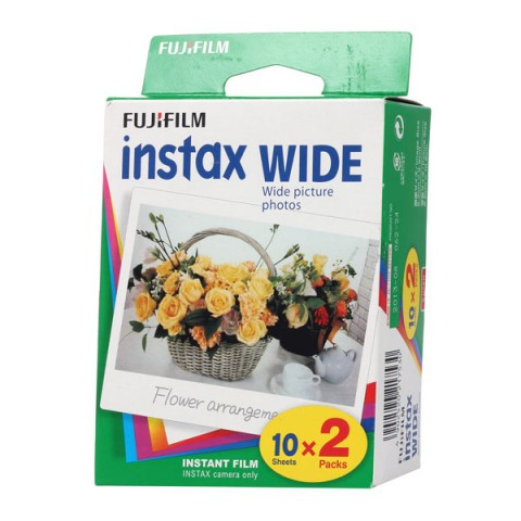 Фотография товара картридж для фотоаппарата Fujifilm Instax Wide 10/2 (10002998)