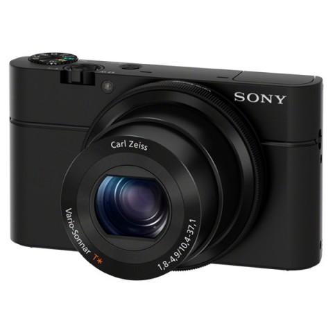 Фотография товара фотоаппарат компактный премиум Sony DSC-RX100 Black (10003193)