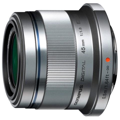 Фотография товара объектив Olympus 45mm f/1.8 Silver (10003236)