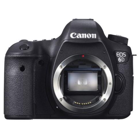 Фотография товара фотоаппарат зеркальный премиум Canon EOS 6D WG Body Black (10003556)
