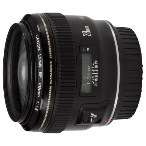 Фотография товара объектив Canon EF28mm f/1.8 USM (10003679)