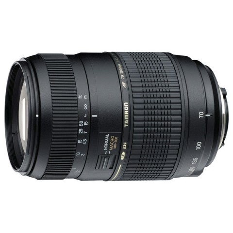 Фотография товара объектив Tamron AF70-300мм F/4-5.6 Di LD Макро 1:2 Canon (A17E) (10003818)