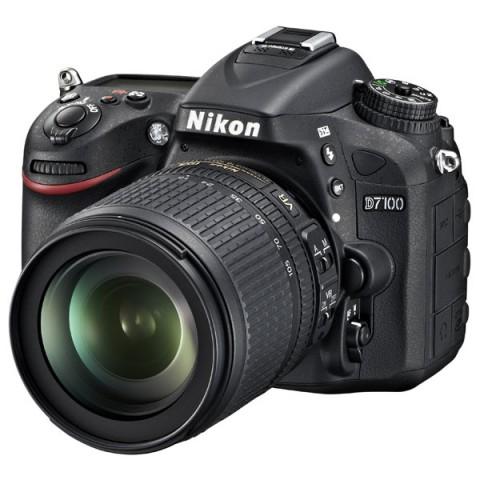 Фотография товара фотоаппарат зеркальный Nikon D7100 Kit 18-105VR Black (10004210)