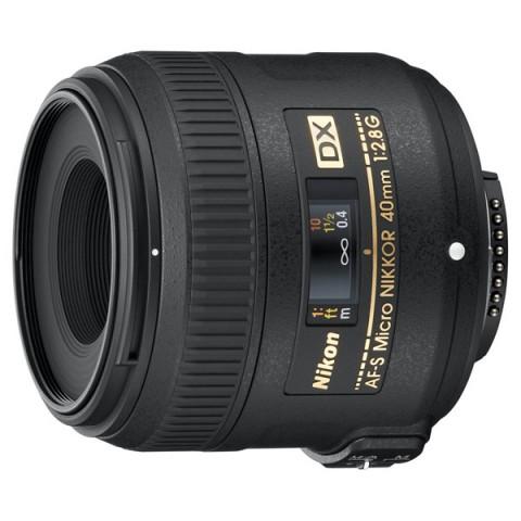 Фотография товара объектив Nikon 40mm f/2.8G AF-S DX Micro Nikkor (10004323)