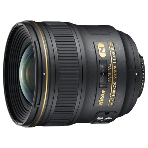 Фотография товара объектив премиум Nikon 24mm f/1.4G AF-S ED Nikkor (10004324)
