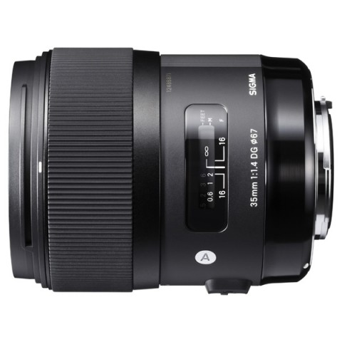 Фотография товара объектив Sigma AF 35mm F/1.4 DG HSM Nikon (10004485)