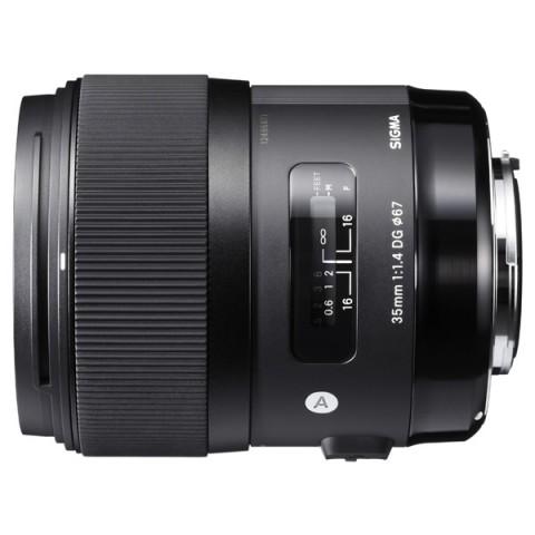 Фотография товара объектив Sigma AF 35mm F/1.4 DG HSM Canon (10004486)