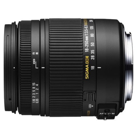 Фотография товара объектив Sigma AF 18-250mm F3.5-6.3 DC MACRO OS HSM Canon (10004489)
