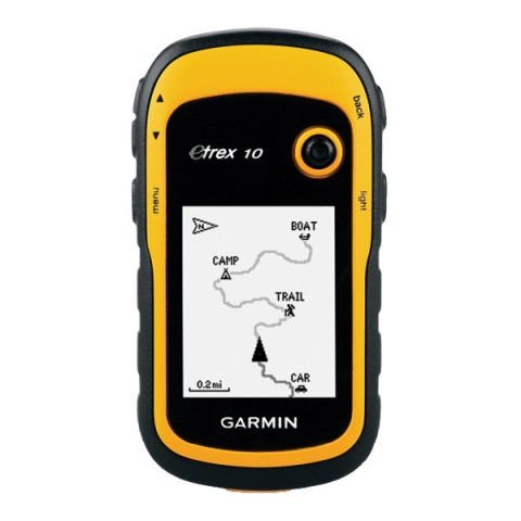 Фотография товара туристический навигатор Garmin eTrex10 GPS Глонасс Россия (10004824)