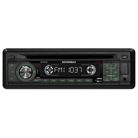 Фотография товара автомобильная магнитола с CD MP3 Soundmax SM-CDM1045 (10004921)