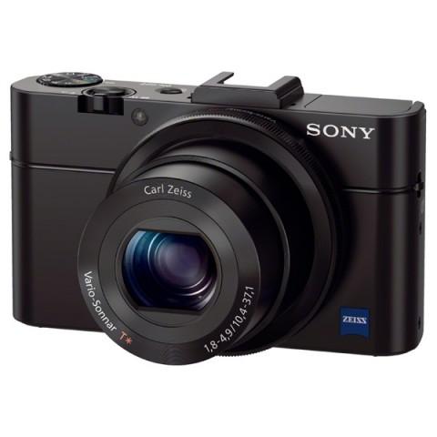 Фотография товара фотоаппарат компактный премиум Sony DSC-RX100 II Black (10004959)