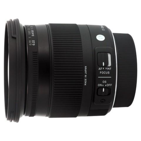 Фотография товара объектив Sigma 17-70mm f/2.8-4 DC Macro OS HSM Nikon (10004987)