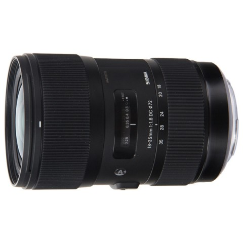 Фотография товара объектив Sigma AF 18-35mm F1.8 DC HSM Canon (10005092)