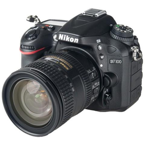 Фотография товара фотоаппарат зеркальный Nikon D7100 Kit 16-85 VR (10005313)