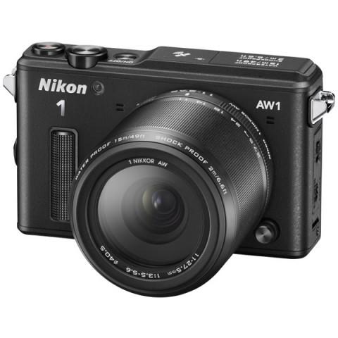 Фотография товара фотоаппарат системный Nikon 1 AW1 (EP)BK S AW11-27.5 (10005492)