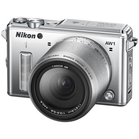 Фотография товара фотоаппарат системный Nikon 1 AW1 (EP)SL S AW11-27.5 (10005493)