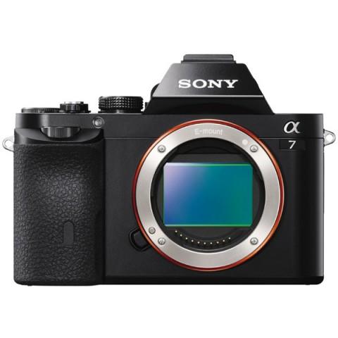 Фотография товара фотоаппарат системный премиум Sony Alpha A7 Body (10005502)