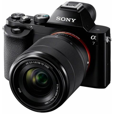 Фотография товара фотоаппарат системный премиум Sony Alpha A7 Kit 28-70 mm (10005582)