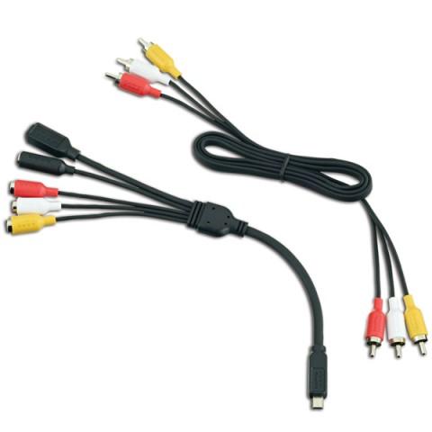 Фотография товара аксессуар для экшн камер GoPro Набор мультимедийных кабелей ALNRK-301 (10005735)
