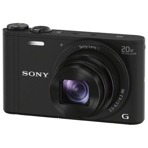 Фотография товара фотоаппарат компактный Sony CyberShot WX350 Black (10006047)