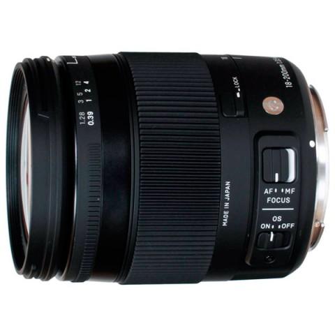 Фотография товара объектив Sigma AF 18-200mm f/3.5-6.3 DC MACRO HSM Nikon (10006414)