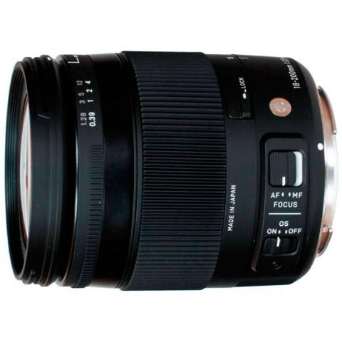 Фотография товара объектив Sigma AF 18-200mm f/3.5-6.3 DC MACRO HSM Canon (10006420)