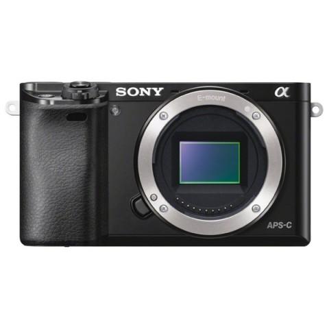 Фотография товара фотоаппарат системный Sony Alpha A6000 Body Black (10006505)