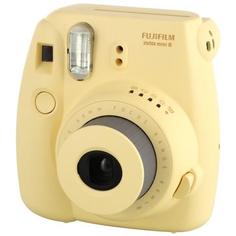 Купить фотоаппарат моментальной печати Fujifilm Instax Mini 8 Yellow (10006582) в Москве, в Спб и в России