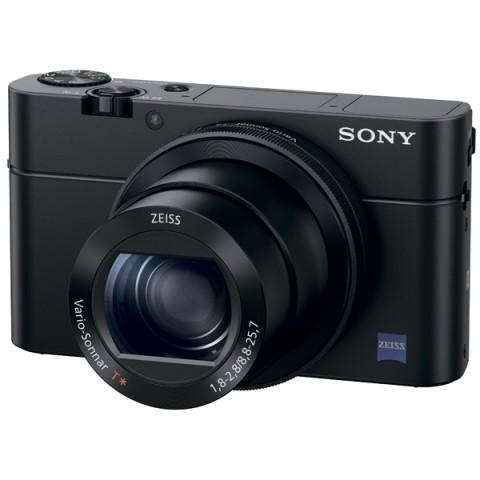 Фотография товара фотоаппарат компактный премиум Sony DSC-RX100 III Black (10006631)