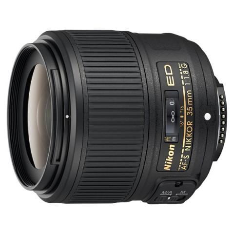 Фотография товара объектив премиум Nikon AF-S NIKKOR 35mm f/1.8G ED (10006797)