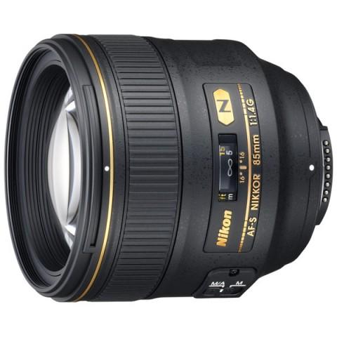 Фотография товара объектив премиум Nikon AF-S NIKKOR 85mm f/1.4G (10006806)