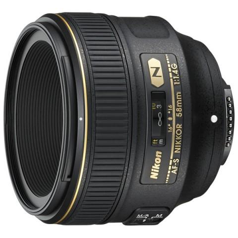 Фотография товара объектив Nikon AF-S NIKKOR 58mm f/1.4G (10006808)