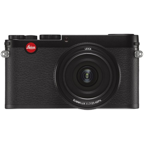Фотография товара фотоаппарат компактный премиум Leica X Black (10006966)
