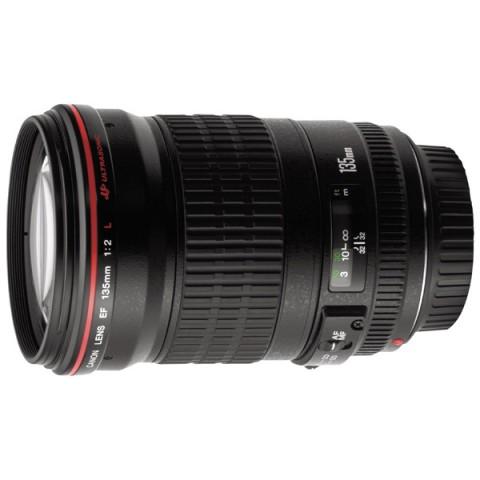 Фотография товара объектив Canon EF 135mm f/2L USM (10007145)
