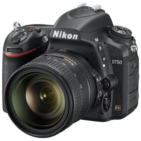 Фотография товара фотоаппарат зеркальный премиум Nikon D750 + 24-85mm Kit Black (10007155)