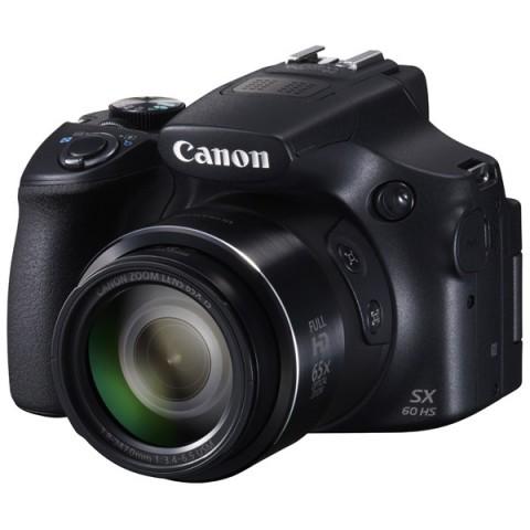 Фотография товара фотоаппарат компактный Canon Power Shot SX60HS Black (10007171)