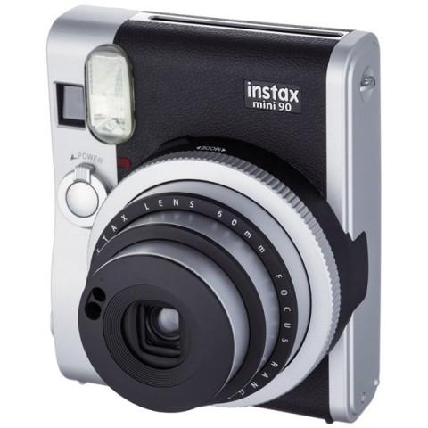 Фотография товара фотоаппарат моментальной печати Fujifilm Instax Mini 90 Black (10007231)