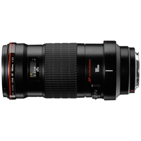 Фотография товара объектив Canon EF 180mm f/3.5L Macro USM (10007401)
