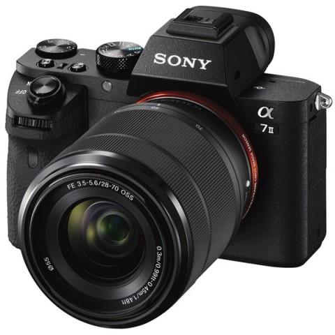 Фотография товара фотоаппарат системный премиум Sony Alpha A7 II 28-70 Kit (10007511)