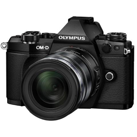 Фотография товара фотоаппарат системный премиум Olympus OM-D E-M5 Mark II 12-50 Kit Black (10007540)