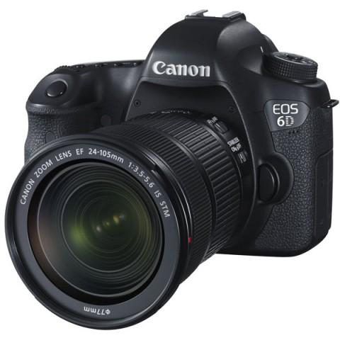 Фотография товара фотоаппарат зеркальный премиум Canon EOS 6D WG Kit 24-105 IS STM Black (10007550)