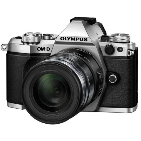 Фотография товара фотоаппарат системный премиум Olympus OM-D E-M5 Mark II 12-50 Kit Silver (10007559)
