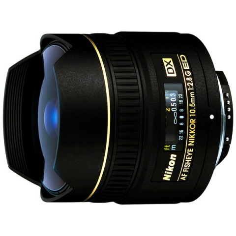 Фотография товара объектив Nikon 10.5mm f/2.8G ED DX Fisheye-Nikkor (10007563)