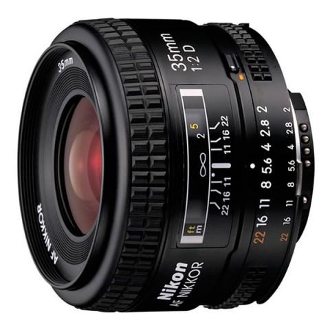 Фотография товара объектив Nikon 35mm f/2D AF Nikkor (10007604)