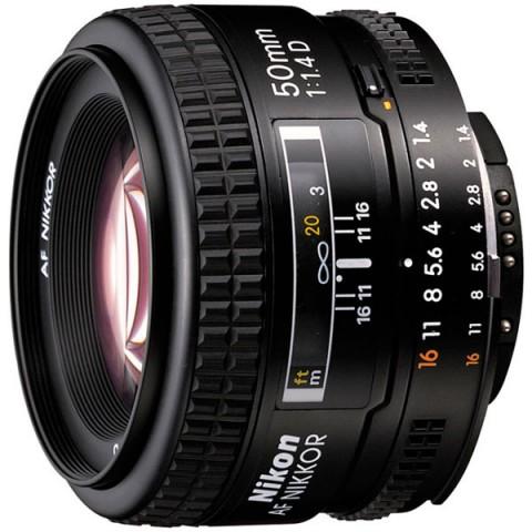 Фотография товара объектив Nikon 50mm f/1.4D AF Nikkor (10007605)