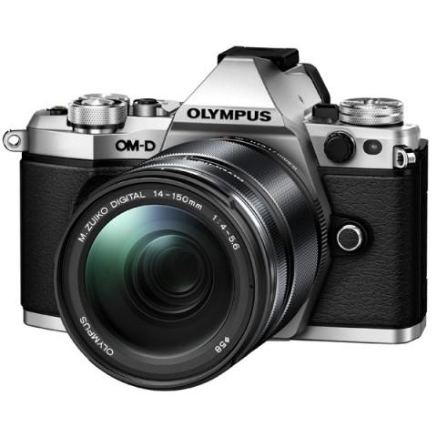 Фотография товара фотоаппарат системный премиум Olympus OM-D E-M5 Mark II 14-150 II Kit Silver (10007692)