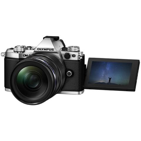 Фотография товара фотоаппарат системный премиум Olympus OM-D E-M5 Mark II 12-40 Kit Silver (10007693)