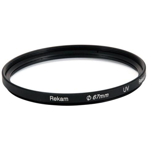 Фотография товара светофильтр для фотоаппарата Rekam UV 67mm (10007720)
