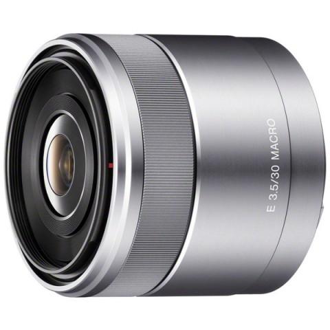 Купить объектив Sony 30mm f/3.5 Macro E (SEL-30M35) (10007746) в Москве, в Спб и в России